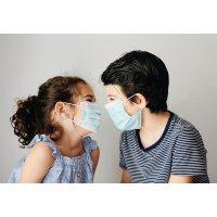 Chirurgische mondkapjes type I voor kinderen van 5 tot 12 jaar