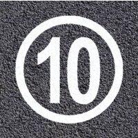 Thermoplastische vloermarkering - Zone 10