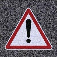 Thermoplastische vloermarkering - Algemeen gevaar