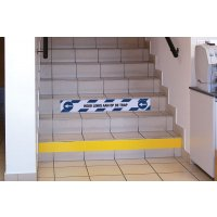Sticker voor optrede - Houd links aan op de trap