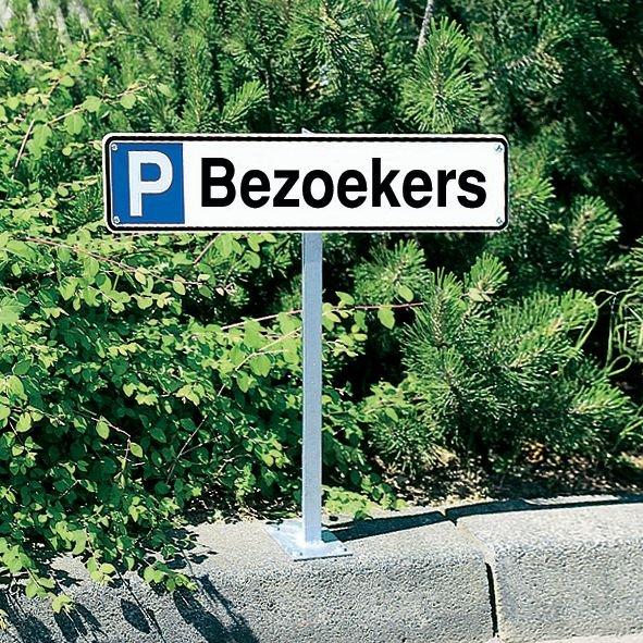 Parkeerborden - Bezoekers - Seton