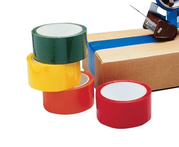 Voordelige verpakkingstape zonder tekst van polypropyleen - Seton