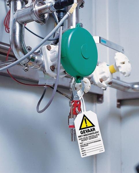 Personaliseerbare veiligheidslabels - Gevaar - Niet inschakelen! - Borden en pictogrammen Gevaar door machines