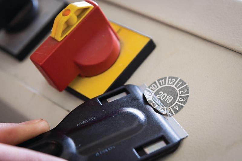Vervanglemmetten voor krabber 305DRA100 - Accessoires voor keuringsstickers