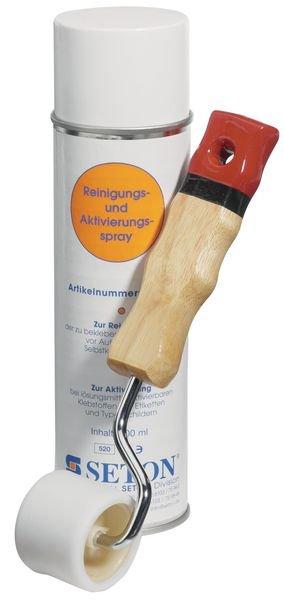 Reinigingsspray voor aanbrengen keuringsstickers - Seton
