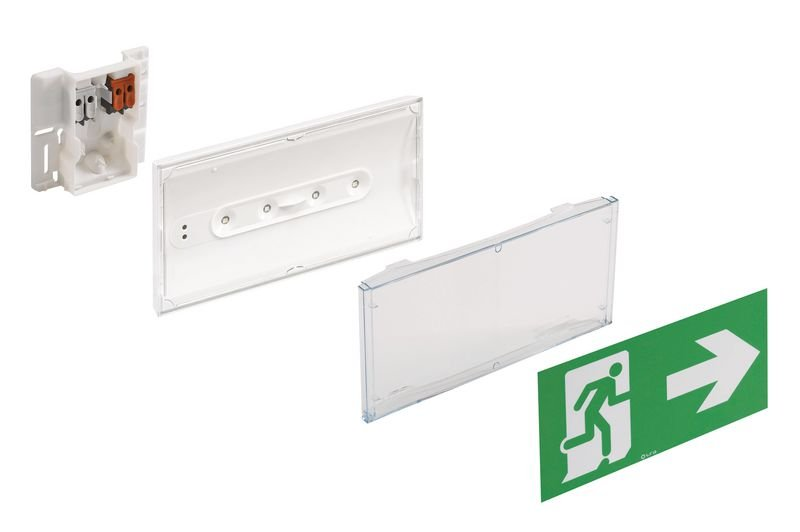 Autonoom veiligheidsblok met ledverlichting - Seton