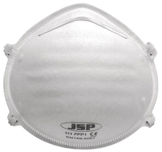 Beschermend FFP1-stofmasker, standaard formaat