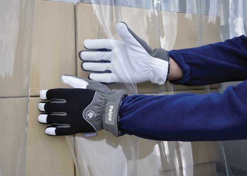 Koudebestendige handschoenen Polyco Freezemaster® II van rundleer - Seton