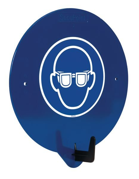 PBM-deurhaak met pictogram Veiligheidsbril verplicht