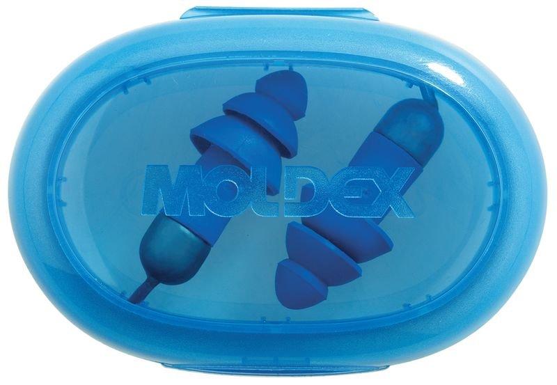 Blauwe oordopjes Moldex® Rockets® Full Detect met SNR 27 dB - Seton