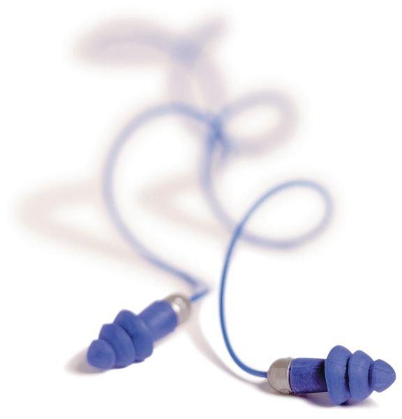 Blauwe oordopjes Moldex® Rockets® Full Detect met SNR 27 dB - Oordoppen