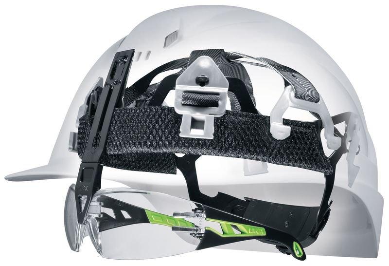 Veiligheidshelm Uvex Pheos IES met bevestigingssysteem voor veiligheidsbril - Veiligheidshelmen