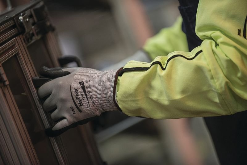 Veiligheidsmouwen Ansell HyFlex® 11-200 - Handbescherming