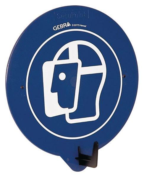 PBM-deurhaak met pictogram Gezichtsbescherming verplicht