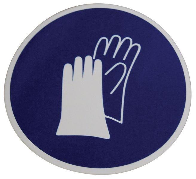 Transparante opbergkoffer voor PBM met 4 pictogrammen