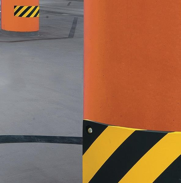 Beschermingsstrook van polyurethaan voor vlakke oppervlakken - Stootranden voor muren