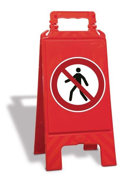 A-bord Verboden voor voetgangers - P004