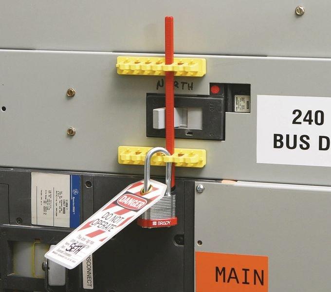 Vergrendelingskit voor grote stroomonderbrekers Breaker Blocker - Elektrische vergrendeling