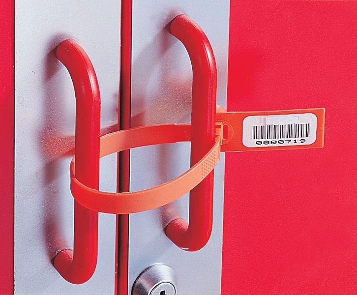 Personaliseerbare stickers met barcode, van papier - Seton
