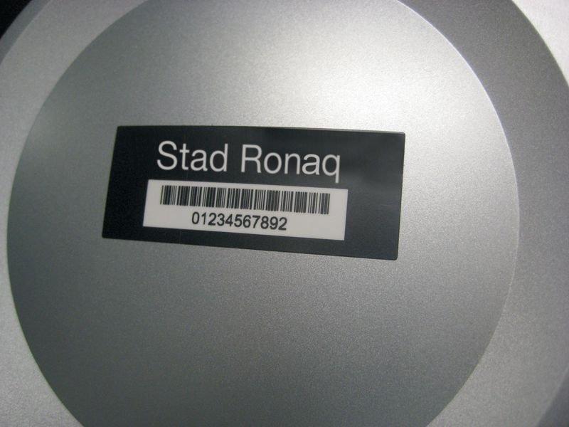 Personaliseerbare eigendomsetiketten DuraGuard® Lite, van gelamineerd polyester