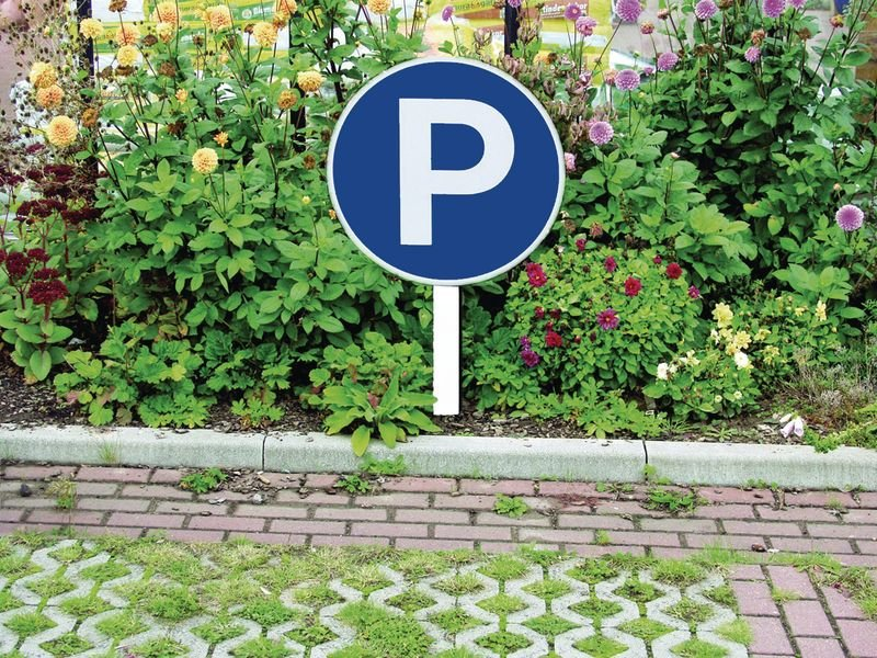 Ronde parkeerborden Parkeerplaatsen - Seton