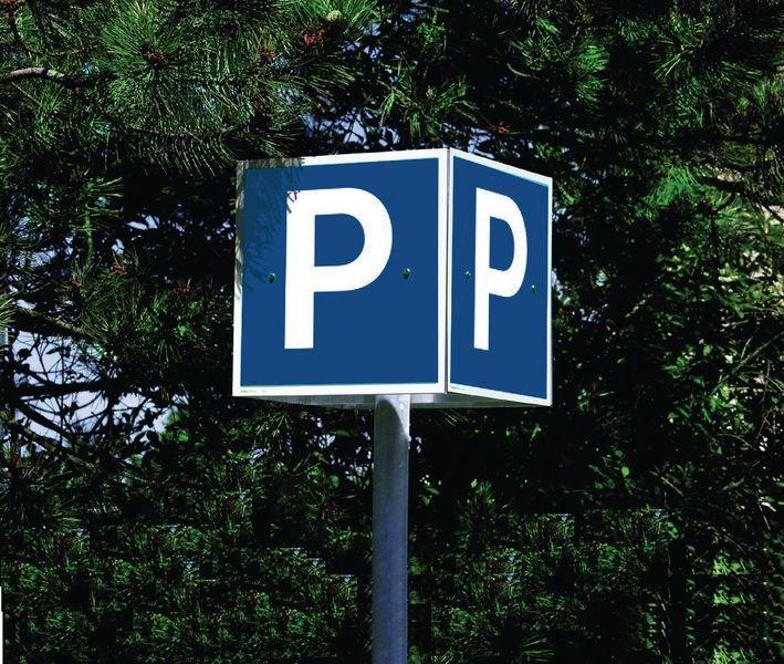 Kubusvormige parkeerborden - Seton