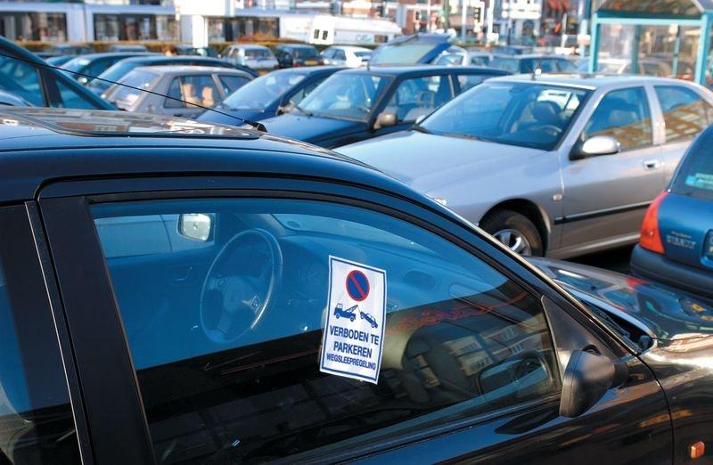 Stickers parkeerverbod - Verboden te parkeren - Wegsleepregeling - Seton