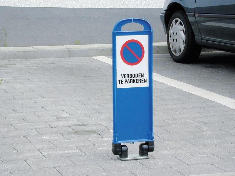 Stickers voor signalisatiekegel voor parking - Bezoekers - Seton