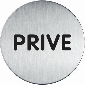 Design informatiebord rond - Privé