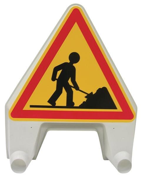 Tijdelijke gevaarsborden Werkzaamheden