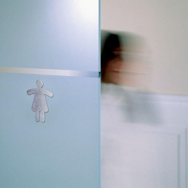 Informatieborden in de vorm van een figuur Toilet dames - Seton