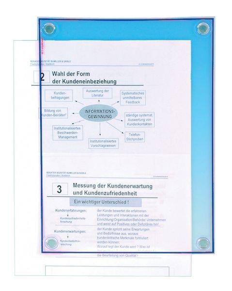 Documentbeschermers met 4 bevestigingsmagneten - Seton