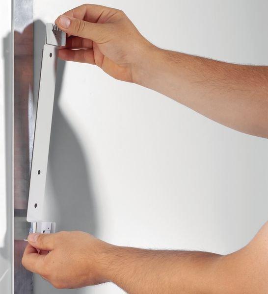 Magnetische muursteun voor zichtpaneel met A4-hoesjes - Zichtpanelensystemen