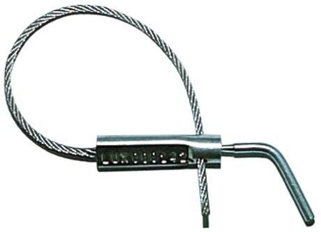 Verzegeling met kabel en zelfbrekende schroef