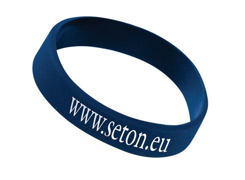 Polsbandjes van silicone, te personaliseren - Seton
