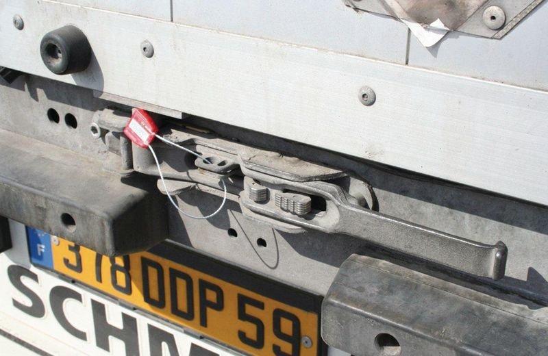 Kabelverzegeling met sluiting en buffer - Zegellood en verzegelingen