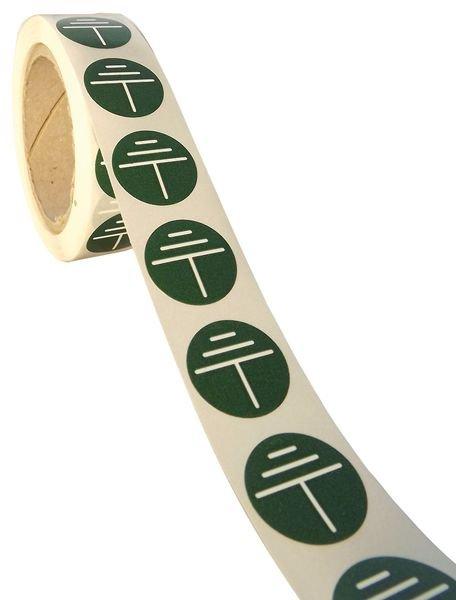 Stickers voor aarding Aarde - Seton