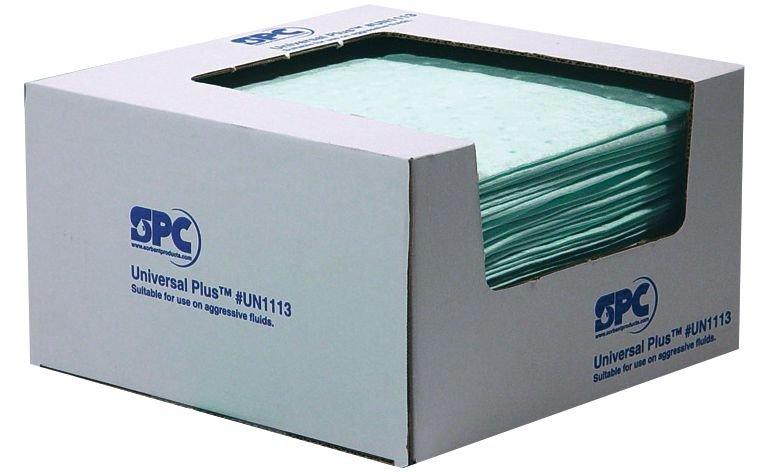 Set van 4 dozen met absorptiedoeken voor chemicaliën - Seton