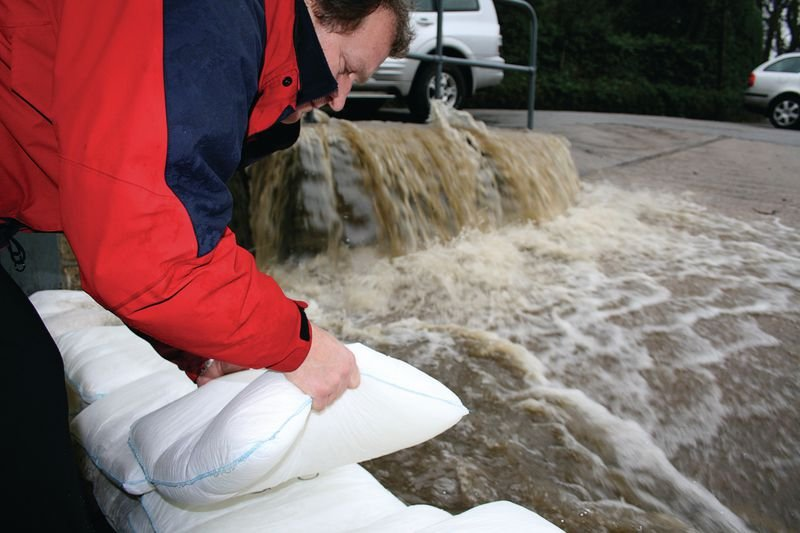Floodsax® tegen overstromingen - Wateroverlast bestrijding
