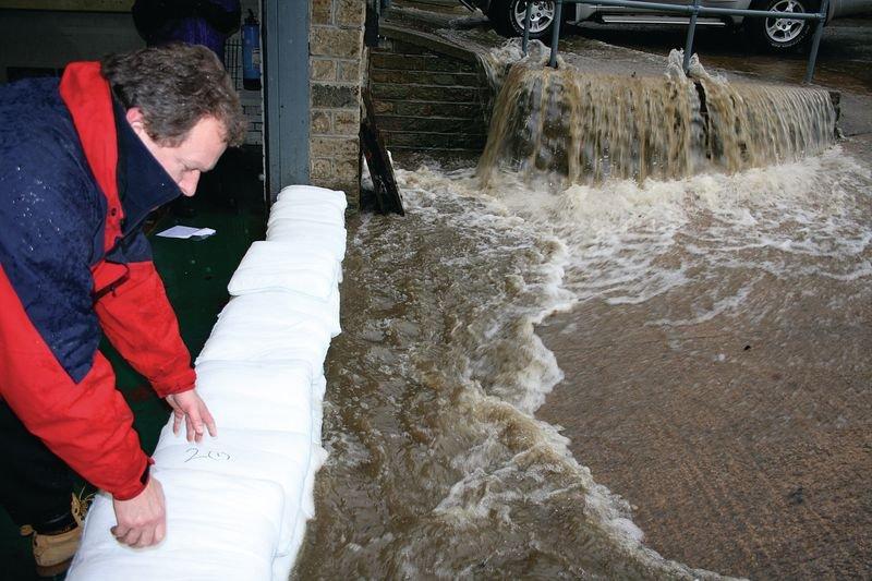 Floodsax® tegen overstromingen - Absorptiemiddelen voor vloeistoffen