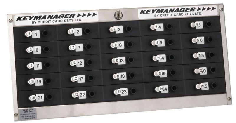 Sleutelbord voor vergrendelende sleutelhangers