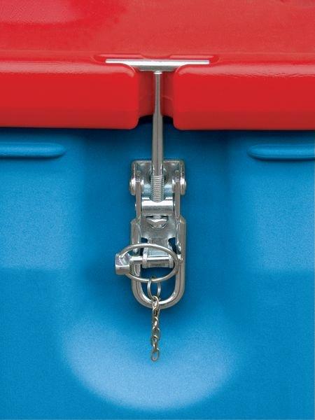 Container op wielen voor gevaarlijke stoffen - Lekbakken van plastic