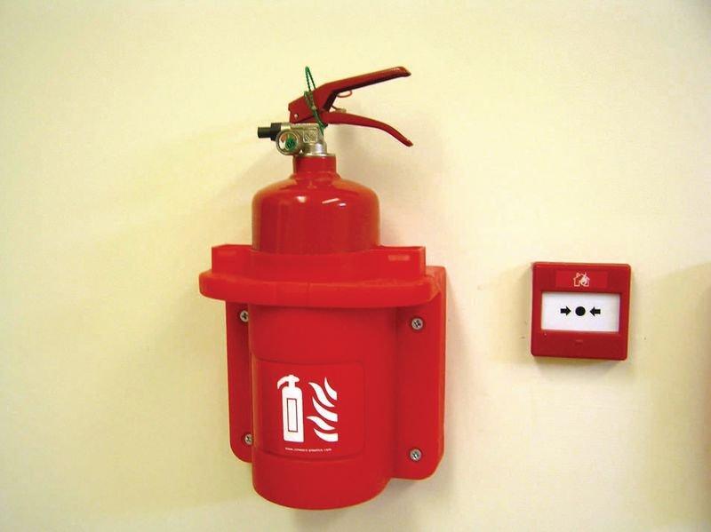 Koffer voor brandblusser van 2 kg - Seton