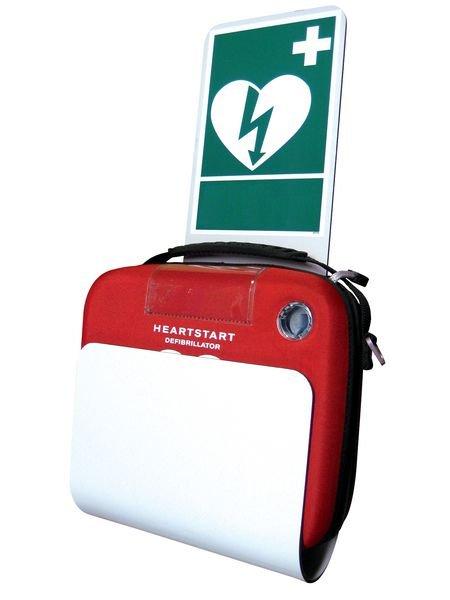 Houder voor HS1-defibrillator conform openbare ruimten - Seton