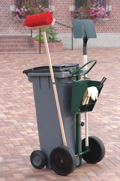 Steekwagen voor plastic afvalcontainer - Seton