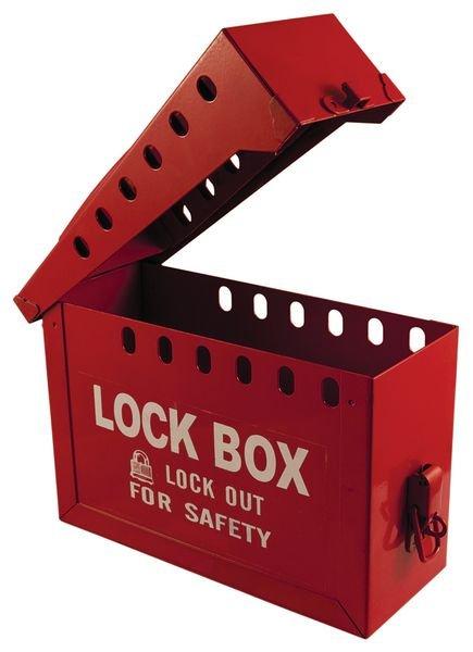 Draagbare lock box met plaats voor 12 hangsloten - Seton