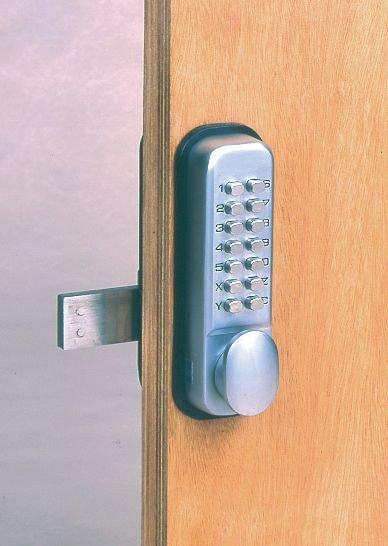 Mechanisch deurslot met code - Seton