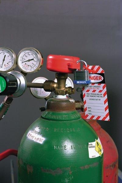 Vergrendelingssysteem voor lockout gasflessen - Seton