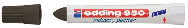 Promopack 8 + 2 stiften industrieel vetkrijt Edding 950 - Seton