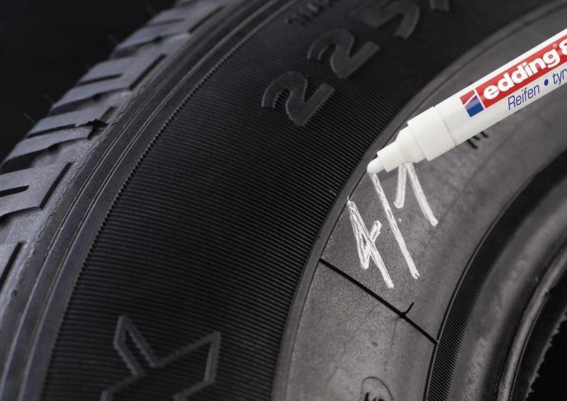 Permanent marker Edding 8050 voor rubber - 2 mm - Seton